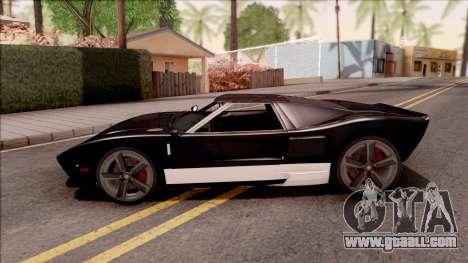 Vapid Bullet Modelo Original IVF for GTA San Andreas