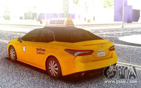 Toyota Camry Hybrid 2018 LQ Taxi for GTA San Andreas