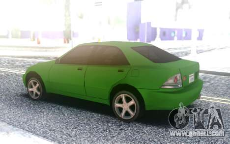 Lexus IS300 for GTA San Andreas