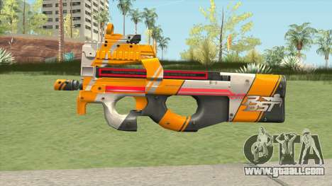 P90 (PBST Series) From Point Blank for GTA San Andreas