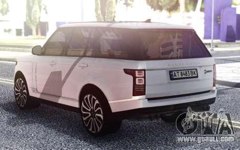 Range Rover Autobiography for GTA San Andreas