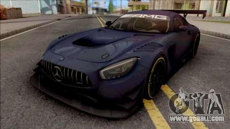 Mercedes-AMG GT3 2015 Paint Job Preset 1 for GTA San Andreas