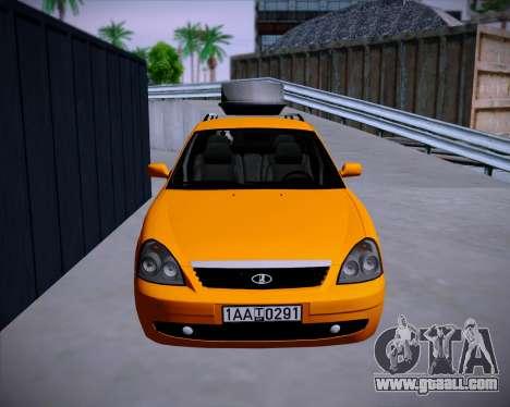 Lada Priora SW for GTA San Andreas