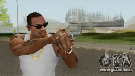 Smith And Wesson M29 Revolver (Chrome) for GTA San Andreas