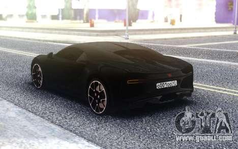 Bugatti Chiron for GTA San Andreas