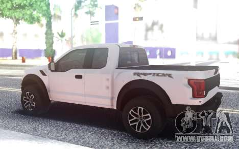 Ford Raptor 2018 for GTA San Andreas