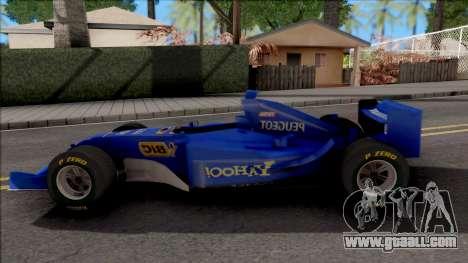 Prost Peugeot AP03 F1 2000 for GTA San Andreas