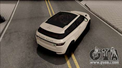 Land Rover Range Rover Evoque for GTA San Andreas