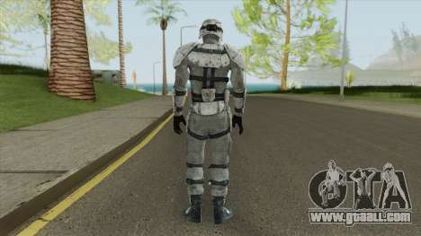 Snow Combat Armor (Fallout 3) for GTA San Andreas