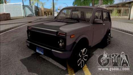 Lada Niva New Tuning for GTA San Andreas
