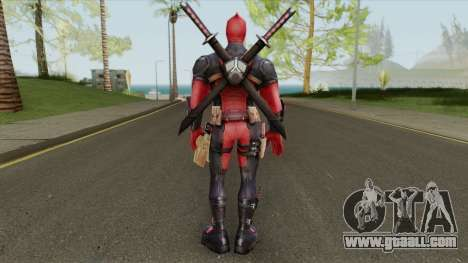 Deadpool From Marvel Super Wars for GTA San Andreas