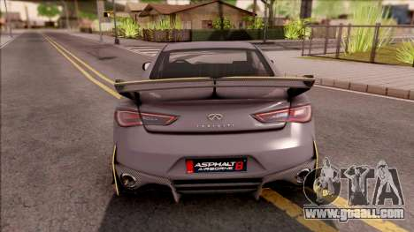 Infiniti Q60 Project Black S 2018 for GTA San Andreas