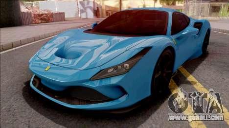 Ferrari F8 Tributo 2020 for GTA San Andreas