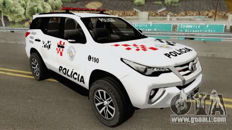 Toyota Fortuner (SW4) 2019 for GTA San Andreas