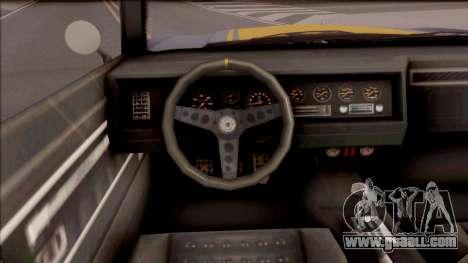 GTA V Declasse Sabre Turbo for GTA San Andreas