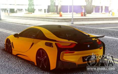 BMW I8 for GTA San Andreas