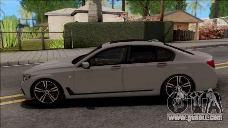 BMW 7-Series M750i for GTA San Andreas