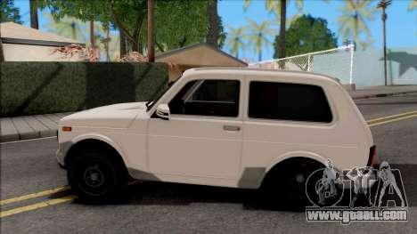 Lada Niva Urban Aze Low Style for GTA San Andreas