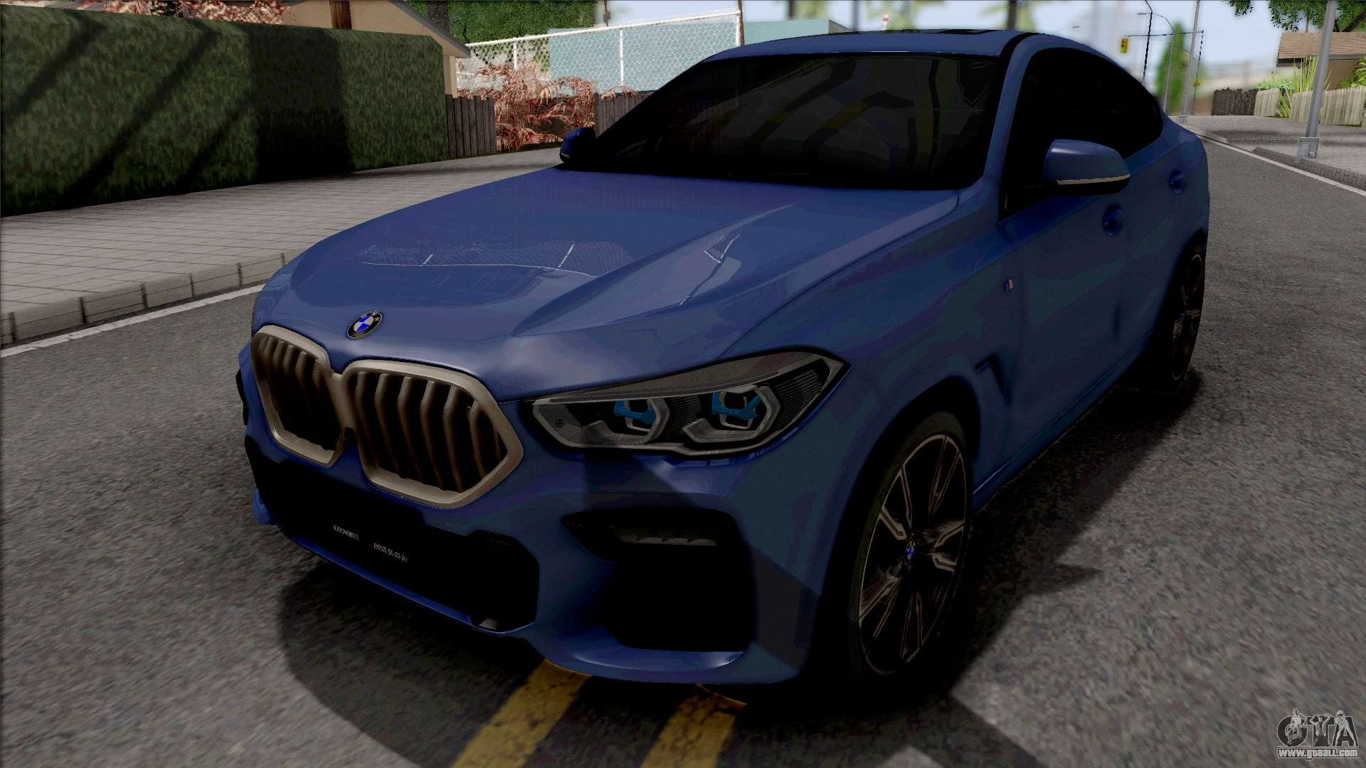 Bmw X6 M50i 2020 For Gta San Andreas
