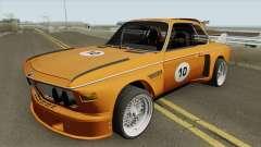 BMW 3.0 CSL 1975 (Orange) for GTA San Andreas