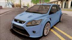 Ford Focus RS 2010 Blue for GTA San Andreas