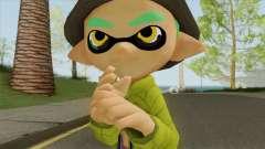 Inkling Boy (Splatoon) for GTA San Andreas