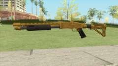 Shrewsbury Pump Shotgun (Luxury Finish) GTA V V4 for GTA San Andreas