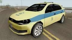 Volkswagen Voyage G6 Taxi Rio De Janeiro for GTA San Andreas