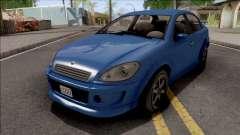 GTA V Declasse Premier for GTA San Andreas