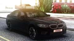 BMW M5 F90 Black Sedan for GTA San Andreas