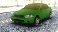 Lexus IS300 Green for GTA San Andreas