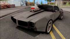 Pontiac Firebird 1970 Grey for GTA San Andreas