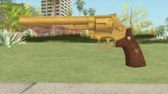 Smith And Wesson M29 Revolver (Gold) for GTA San Andreas