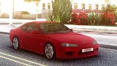 Nissan Silvia S15 Red Original for GTA San Andreas