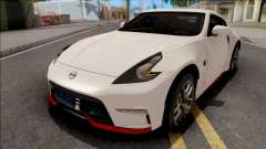 Nissan 370Z Nismo White for GTA San Andreas