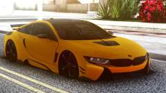 BMW I8 Yellow for GTA San Andreas