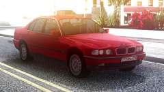 BMW 730 E38 Red Original for GTA San Andreas