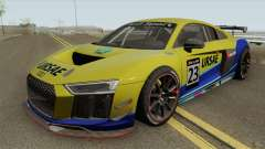 Audi R8 LMS GT4 2018 for GTA San Andreas