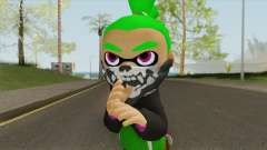 Inkling Boy Green V1 (Splatoon) for GTA San Andreas
