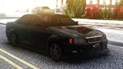 Toyota Chaser Sedan Black for GTA San Andreas