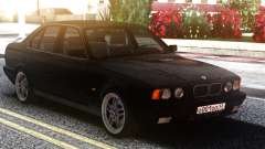 BMW E34 525 Classic Black Edition for GTA San Andreas