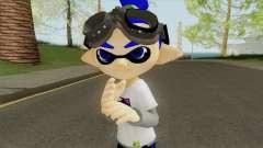 Inkling Boy Blue (Splatoon) for GTA San Andreas