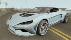Pegassi Zorrusso GTA V for GTA San Andreas