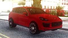 Porsche Cayenne Turbo S Red Original for GTA San Andreas