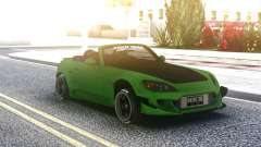 Honda S2000 Cabrio Green for GTA San Andreas
