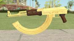 AK-47 Gold HQ for GTA San Andreas