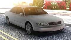 Audi A8 White Original for GTA San Andreas