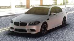 BMW M5 F10 Original White for GTA San Andreas