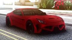 Ferrari FF Red for GTA San Andreas