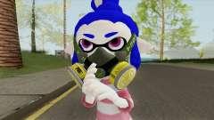 Inkling Girl Blue (Splatoon) for GTA San Andreas